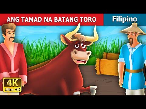 ANG TAMAD NA BATANG TORO   THE LAZY BULL BOY   Filipino Fairy Tales