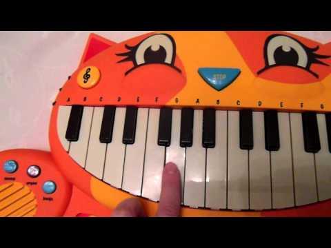 Музыкальная игрушка Battat КОТОФОН (звук)