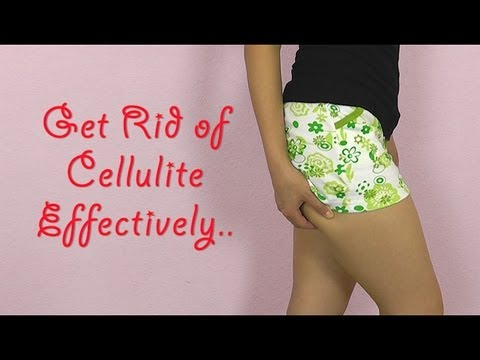 how to get rid cellulite on bum