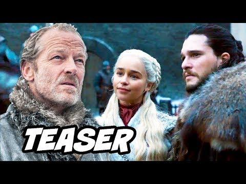 Game Of Thrones Season 8 Teaser - Daenerys Targaryen and Jorah Mormont Easter Eggs Breakdown