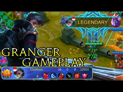 Granger [Death Chanter] Gameplay - Mobile Legends Bang Bang