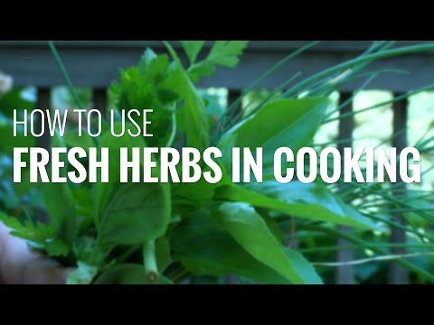 How To Cook With Fresh Herbs: Using Fresh Herbs In Cooking To Boost Flavor And Nutrition