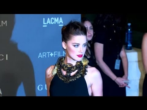Amber Heard: 'I Don't Want To Be A Celebrity' – Splash News