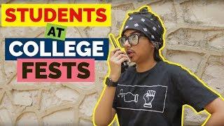 Video Types of Students At College Fests | MostlySane MP3, 3GP, MP4, WEBM, AVI, FLV Maret 2018