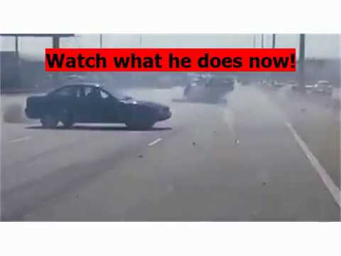 N1 Vehicle Accident - Attempted Hit N Run In South Africa