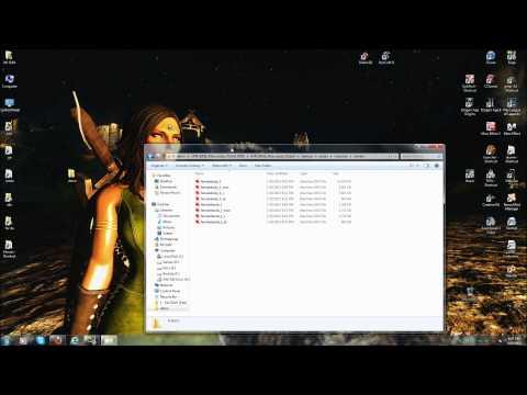 How to install UNP for Skyrim