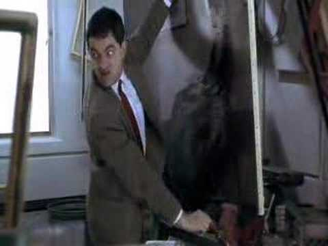 Mr. Bean II: Pintando