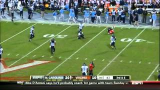 Morgan Moses vs North Carolina (2012)