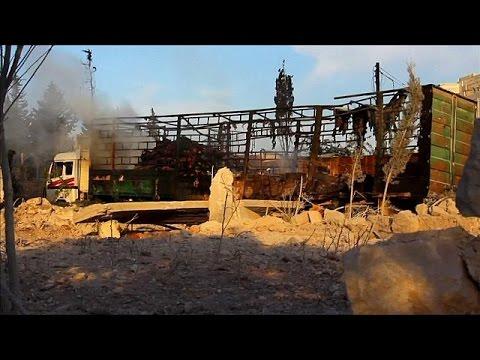 Διπλωματικός «πόλεμος» για την επίθεση στο κομβόι του ΟΗΕ στη Συρία