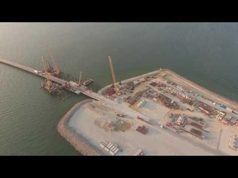 Керченский мост — ход строительства