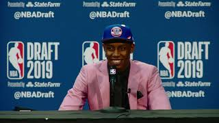 RJ Barrett Press Conference | NBA Draft 2019 by NBA
