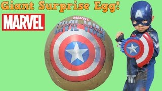 Video Captain America Civil War Super Giant Surprise Toys Egg Opening Fun With Ckn Toys download in MP3, 3GP, MP4, WEBM, AVI, FLV January 2017