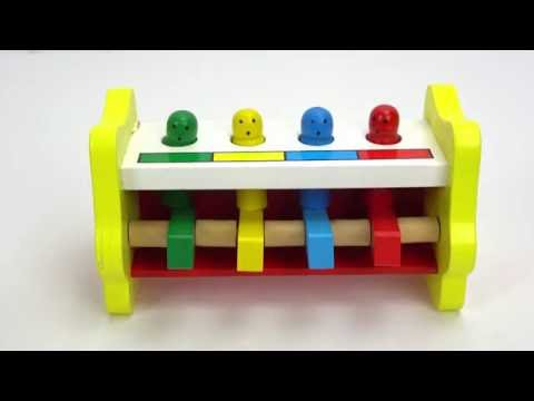 Best Learning Preschool Toy for Kids Video: Cute Toddler Plays Having Fun! Surprise Toy at End!