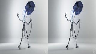 AK3D Selfillumination - 3D анимационный короткометражный фильм в стерео 3D CGI короткометражный yt3d