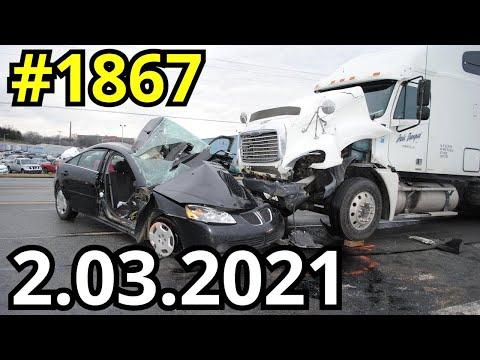 Новая подборка ДТП и аварий от канала Дорожные войны за 2.03.2021