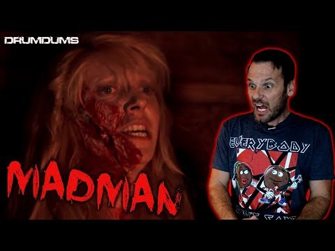 Drumdums Reviews MADMAN (Classic Camp Slasher)
