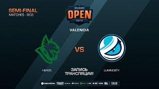 Heroic vs Luminosity - DreamHack Open Valencia 2018 - map1 - de_train [CM, Anishared]