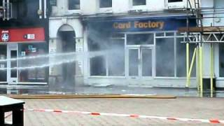 Hereford United Kingdom  City new picture : Hereford UK City Centre Fire 21st Oct 2010 Part 3