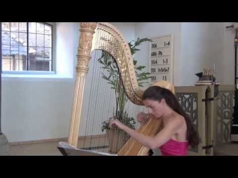 """Franz Liszt – Am Rhein, im schönen Strome (""""Buch der Lieder""""), Silke Aichhorn – Harfe / Harp"""