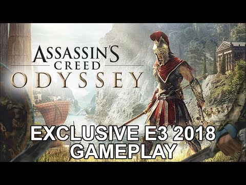 Assassin's Creed Odyssey - Exclusive E3 2018 Gameplay | DanQ8000