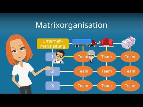 Matrixorganisation - Organisationsformen erklärt