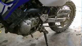10. How to Change Dirt Bike chain and sprockets
