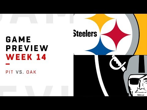 Pittsburgh Steelers vs. Oakland Raiders | Week 14 Game Preview | NFL Film Review