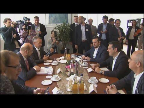 Τσίπρας – Σουλτς: Να ενισχύσουμε την κοινωνική και δημοκρατική Ευρώπη