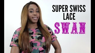 It's A Lace Front Wig - Synthetic Lace Front Wig - SUPER SWISS LACE SWAN --/WIGTYPES.COM COLOR: SM2730 *Swiss lace...