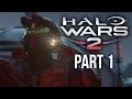 Halo Wars 2 Walkthrough Part 1 Act 1 2 xbox One Gamepla