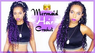 I did my hair in a crochet braid hairstyle using Chain Loc Twist by Zury Hollywood. The braids are small and wavy with a 3D braid pattern. I have the hair in...