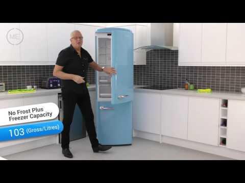 Gorenje ONRK193BL Retro Frost Free Fridge Freezer