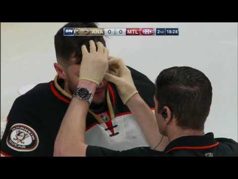 Video: Good start for Gallagher leaves Bernier shaken up, draws ire of Bieksa