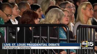 FULL: Second Presidential Debate - Hillary Clinton Donald Trump - St. Louis Town Hall