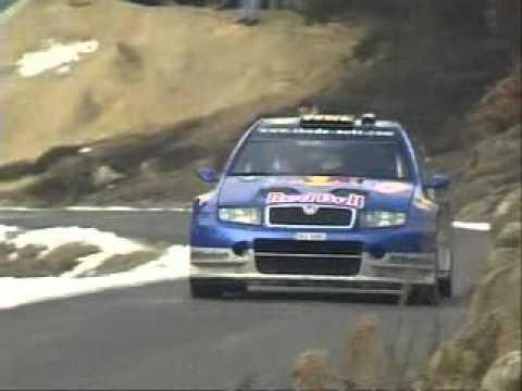 gilles panizzi - hervé panizzi al rallye monte carlo 2006
