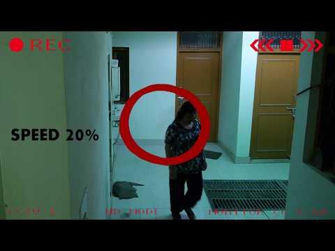 attività paranormale ripresa dalle telecamere! incredibile!