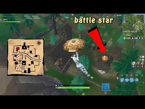 follow the treasure map in snobby shores