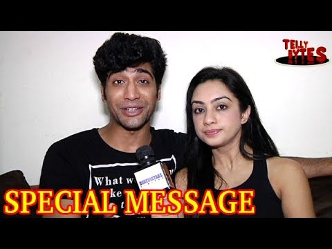 Sanam And Abigail's SPECIAL MESSAGE for their fans