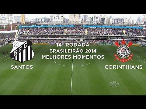 1 corinthians 10 - Acesse: http://www.portala8.com CAMPEONATO BRASILEIRO CHEVROLET 2014 SÉRIE A 14ª Rodada Estádio Urbano Caldeira, Santos, SP Siga - http://twitter.com/sovideo...