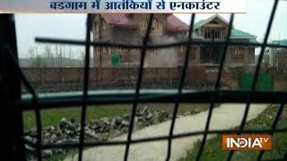 JK: Encounter between security forces and terrorists underway in Budgam