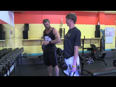 Teen Beginners Bodybuilding Training   Legs Workout