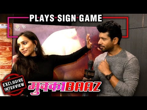 Vineet Kumar Singh & Zoya Hussain Play The Sign Ga