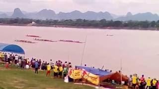 แข่งเรือกระชับสัมพันทะไมตรี ไทย-ลาว นครพนม2559 ຊ່ວງເຮືອມຶດຕະພາບ ໄທ-ລາວ 2016.