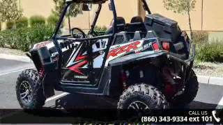 2. 2013 Polaris RZR XP 900 EPS Walker Evans Black/White LE  ...