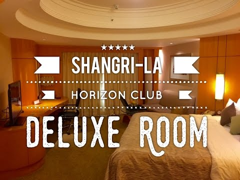 Makati Shangri-La Horizon Club Deluxe Room and Room Service by HourPhilippines.com