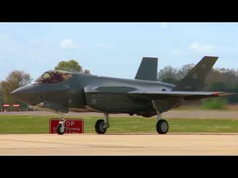 F-35 visit to RAF Lakenheath 2017