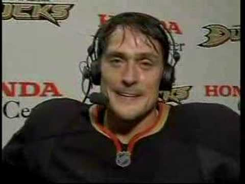 Anaheim Ducks Teemu Selanne Interview 670 point