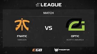 Fnatic vs Optic, map 2 dust2, ELEAGUE Season 2