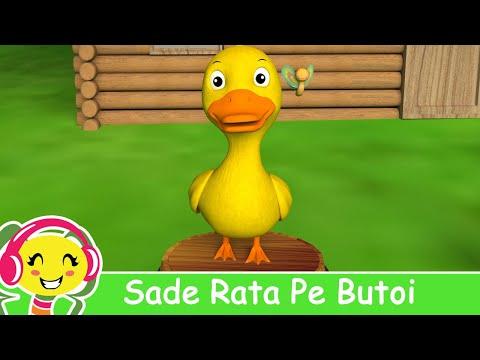 Sade Rata Pe Butoi | CanteceGradinita.ro - cantece pentru copii