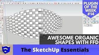 Video Create Awesome Organic Shapes in SketchUp with FFD - SketchUp Plugin of the Week #14 MP3, 3GP, MP4, WEBM, AVI, FLV Desember 2017